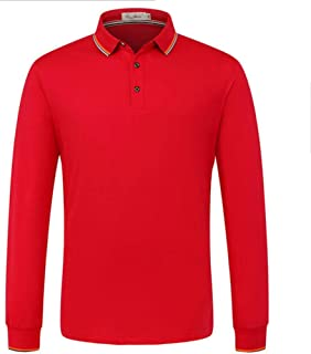 Custom Long Sleeve Polo Shirt Logo Print or Embroidery Tailor Made Pure Cotton Create Your Own Polo Unisex Shirt