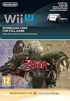 The Legend of Zelda Twilight Princess [Wii U Download Code]