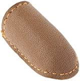 Clover Natural Fit Leather Thimble Medium-