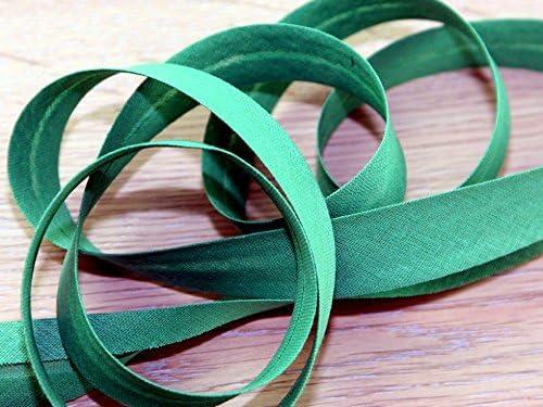 Prym 20mm Cotton Bias Elegant Binding Tape Grass Finally resale start ro - per metre Green 30