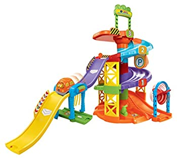 VTech Go! Go! Smart Wheels Spinning Spiral Tower Playset  Frustration Free Packaging