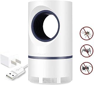 Jieer Lámpara Antimosquitos, Trampa para Mosquitos USB, Fotocatalítico, No Tóxico, Seguro, Ahorro de Energía, Repelente de Mosquitos, Eficiente para Acampar en Interiores y Exteriores