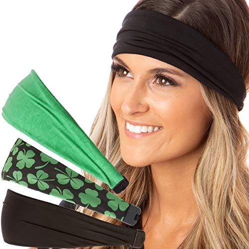 Hipsy Irish Green Headband St Patricks Day Accessories