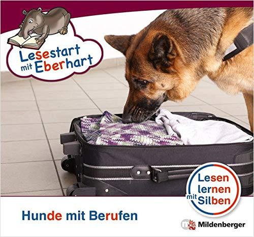 Lesestart mit Eberhart: Hunde mit Berufen: Themenhefte für Erstleser, Lesestufe 5 (Lesestart mit Eberhart / Lesen lernen mit Silben - Themenhefte für Erstleser - 5 Lesestufen - je 10 Hefte)