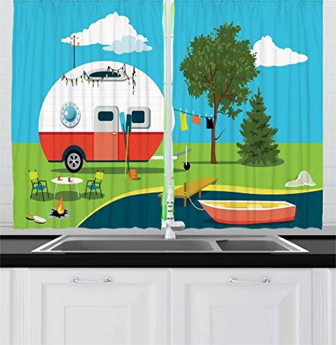 RV Kitchen Curtains