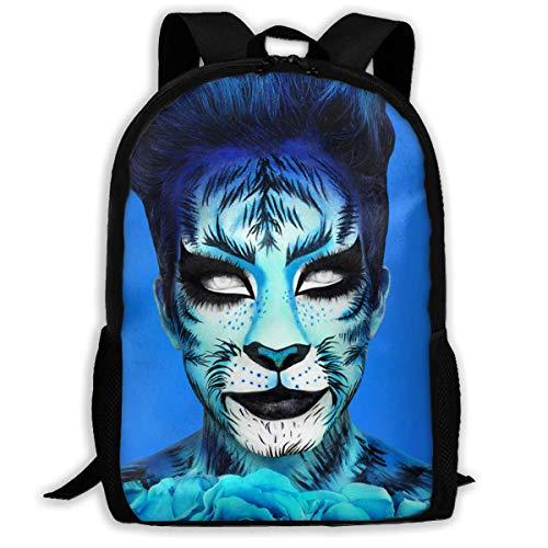Shichangwei Unisex Kids Cosmetics_James Backpack for School Girls Boys Daypacks Backpack Zipper
