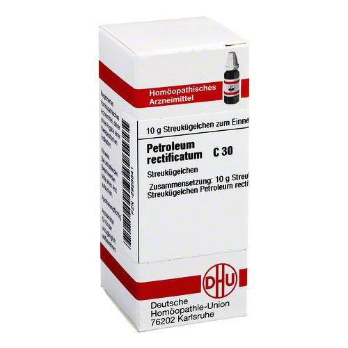 PETROLEUM RECTIFICATUM C 30 Globuli 10 g Globuli
