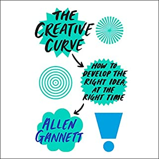 The Creative Curve audiobook cover art