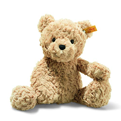 Steiff 113505 Soft Cuddly Friends Jimmy Teddybeer Beer, lichtbruin