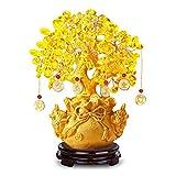 Familia jardín decoración ornamento estatua escultura creativo abstracto feng shui dinero árbol riqueza figurilla, ornamentos caseras árbol árbol afortunado árbol decoración Decoración de la mesa de