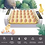 KKTECT Incubadora de 24 Huevos Incubadora Automática Integrada Incubadora Termostática Incubadora casera de Aves de Corral de Laboratorio Pollo Ave Huevo Incubadora