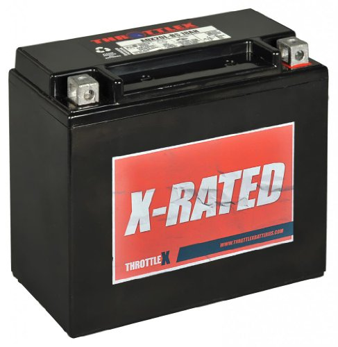 ThrottleX Batteries - ADX20HL-BS - AGM Replacement Power Sport Battery