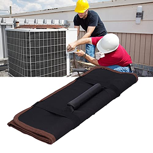 Surebuy Bolsa de Herramientas de Electricista, Bolsas de Almacenamiento livianas para alicates para Almacenamiento(Black)