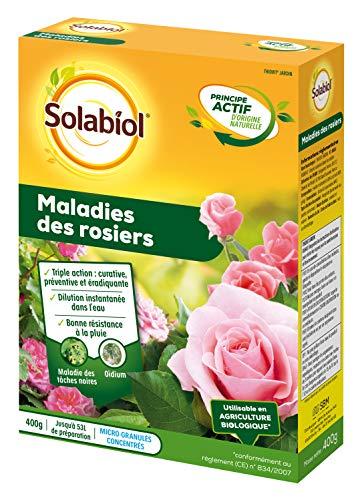 Solabiol SOTHIO400 Maladies des Rosiers 400g / 50L de Solution, Fongicide