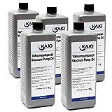 WilTec Kajo Universal Vacuum Pump Oil Aceite de vacío para Bombas rotativas de paletas 5000ml