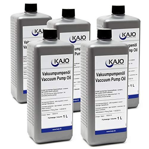 Kajo Universal Vakuumpumpenöl für Drehschieberpumpen 5000 ml