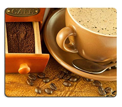 Rael Esthe Alfombrilla de ratón Alfombrilla de Goma Natural Molinillo de café...