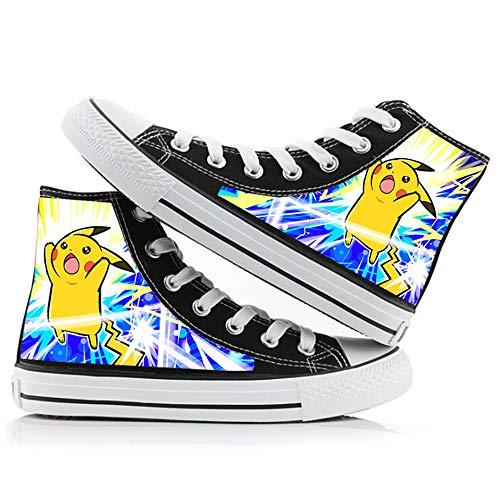 Pokémon Zapatos de Lona Zapatos de Lona Unisex Zapatos Deportivos 1