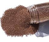 FAIRY TAIL & GLITZER FEE Sabbia Decorativa 800 g, Marrone Terra, Sabbia Colorata, Granulat...