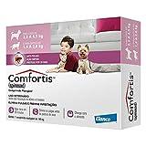 Antipulgas Comfortis Elanco 140 mg para Cães de 2,3 a 4 Kg e Gatos de 1,9 a 2,8 Kg1 comprimido