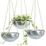 Set 3 Hanging Planter for Outdoor &...