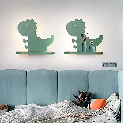 1PCS Creativity Child wandlamp LED Warm lamp van het bed gepersonaliseerde Kinder Slaapkamer Lampen met Schappen voor Children's Room Living Room Balcony