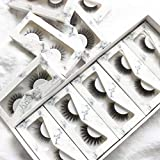 Sapphirewigs 10 Types False Eyelashes Thick Wedding Event Daily Makeup Long Soft Reusable 3D Lashes Synthetic Fiber Material High Imitation Lashes 10 Pair Pack Individual Package