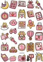 Sailor Moon Girl Decorative Sticker Set Diary Album Label Sticker DIY Scrapbooking Stationery Stickers Escolar (3)