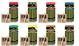 King Palm | Flavor Mini Size | 20 Pack | Natural Slow Burning Pre-Rolled Palm Leafs with Filter Tip (Margarita)