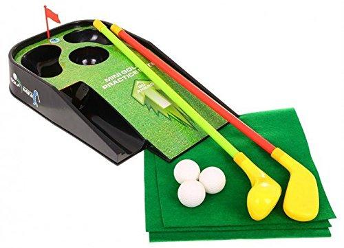 BSD Golf Spielset für Kinder Kunststoff Minigolf Spielzeug mit Lichteffekte