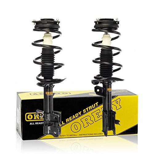 OREDY Shocks Struts 2PCS Front Struts Coil Springs Suspension Struts Kit 172609 172608 11733 11734 Complete Struts Assembly Shocks and Struts Compatible with Rogue 2008 2009 2010 2011