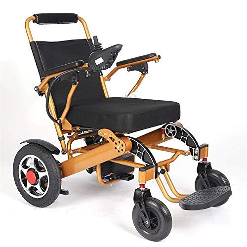 DLY Älterer Behinderter Heimgebrauchs-Elektromotor-Aluminiumlegierungs-Leichter Elektrischer Rollstuhl für Behinderte, Ältere Menschen