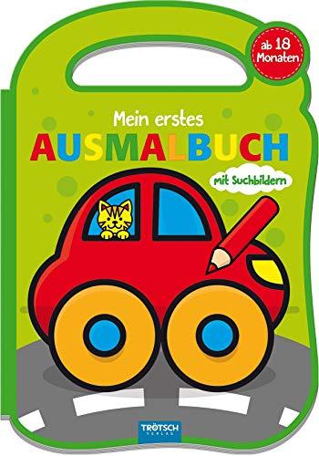 """Mein erstes Ausmalbuch \""""Spielzeug\"""": 16 Seiten, ab 18 Monate (Malbücher ab ...)"""