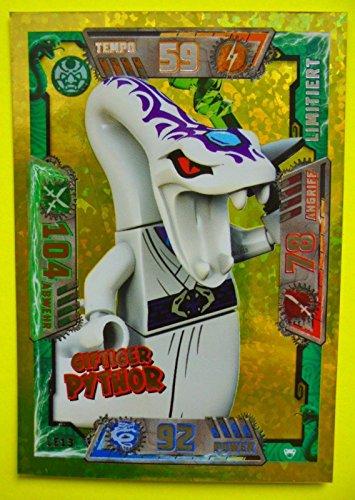 Lego Ninjago Serie 2 Trading Card Game - LE13 Giftiger Pythor - Limitierte Auflage