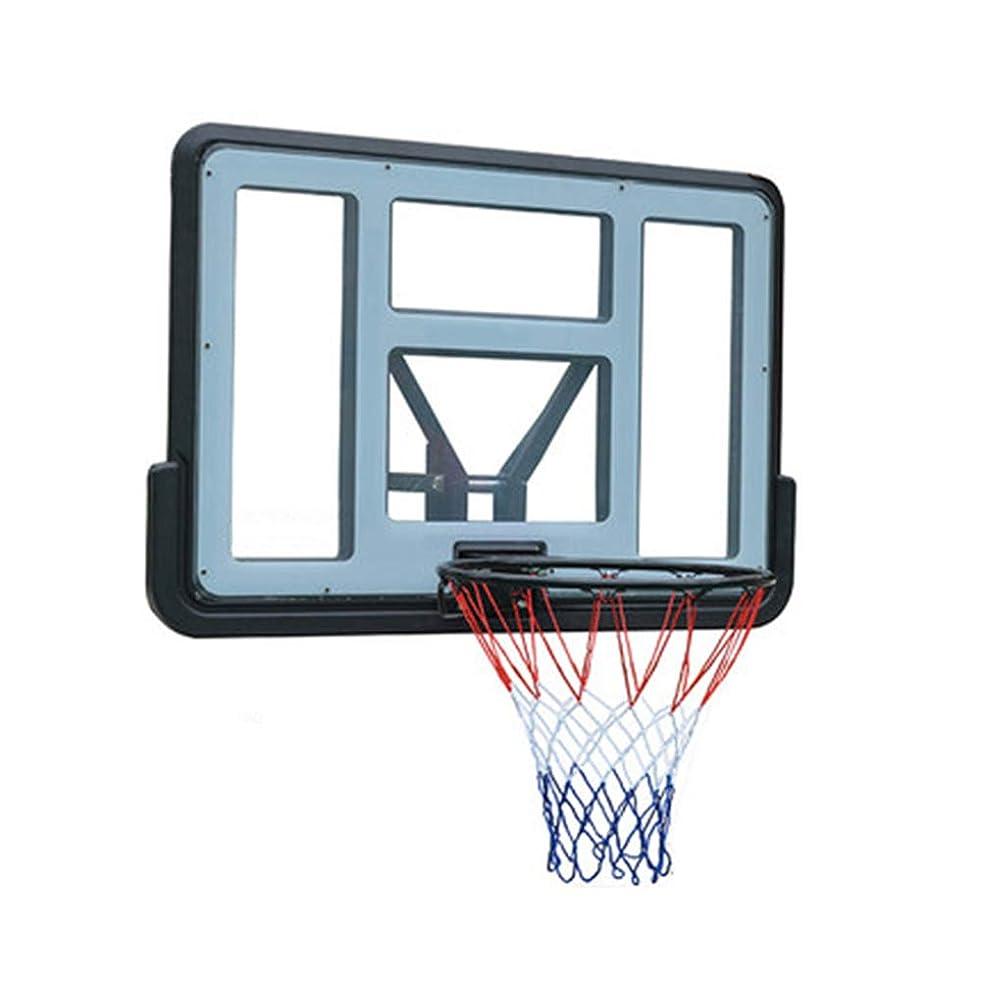 連帯解任ナインへ多機能バスケットボールおもちゃセット ステンレス鋼フレーム、耐久性と安全性を強化するための壁マウント厚く砕けにくいバックプレートフィクスチャ