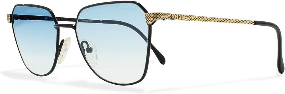 Gianfranco ferrè,occhiali da sole per uomo,vintage, quadrato GFF 95