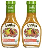 Annie's Homegrown Organic Papaya Poppy Seed Dressing - 8 oz - 2 pk