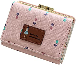 MOCA PU Leather Women's Wallet (Pink, tu-lp)