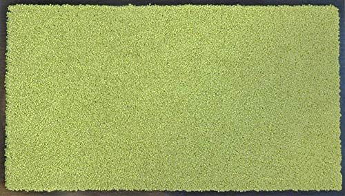 """oKu-Tex Fußmatte   Schmutzfangmatte   \""""Eco-Clean\""""  Grün   Recycling-Gummi   für innen   Eingangsbereich / Haustür / Treppenhaus / Flur   rutschfest   60x90 cm"""