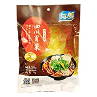四川冒菜 野菜スープ 288g 与美 蔬菜210g 调味包8g 酱料包70g 5分钟即食 图片仅供参考