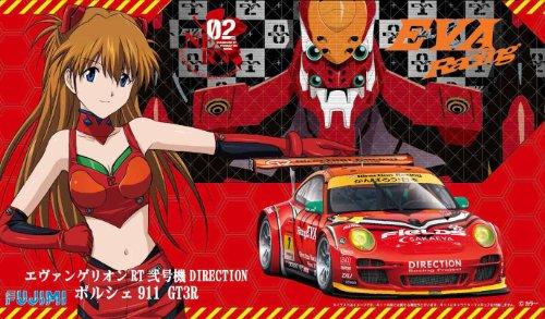1/24 Evangelion RT machine DIRECTION Porsche 911 GT3R (japan import)