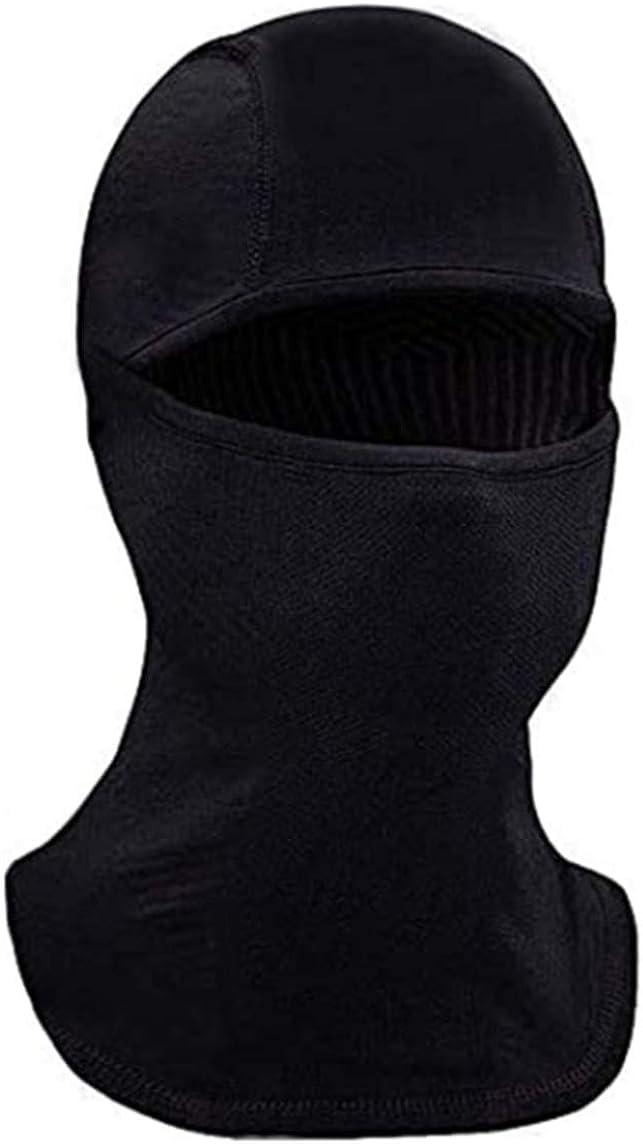 Face Ski Mask Balaclava - Full Face Black Mask for Women & Men – Sun, Cold Wind, Dust Protection – Moisture Wicking, Hypoallergenic