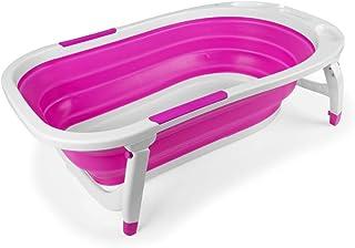 Bañera Bebé Plegable Rosa - Bañeras para bebés y bañeras de viaje
