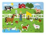 Melissa and Doug 10738 SoundpuzzleausHolz-OldMacDonald´sBauernhof