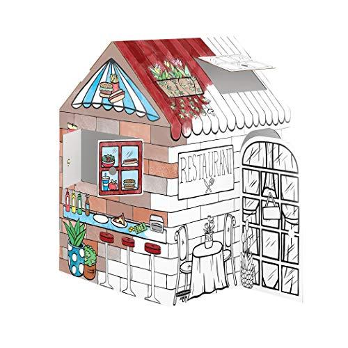 Bankers Box Play Treats 'N' Eats Playhouse, blanco, 1 unidad (1230201)