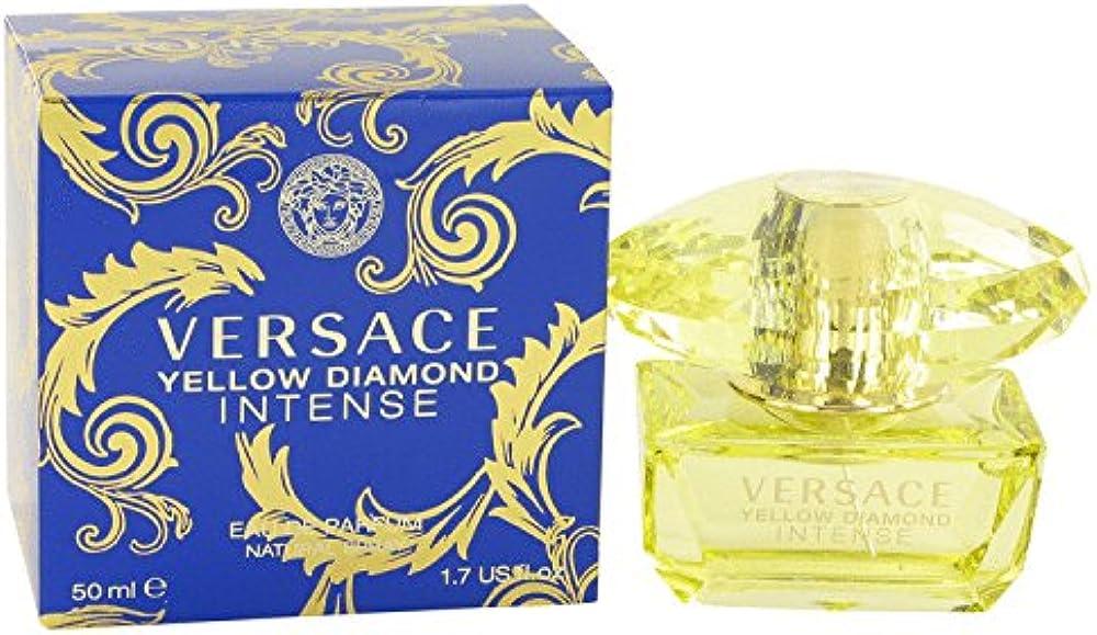 Versace yellow diamond intense, eau de parfum,PROFUMO PER DONNA, spray, 50 mlMCH531031