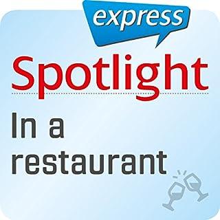 Spotlight express - Ausgehen: Wortschatz-Training Englisch - Im Restaurant Titelbild