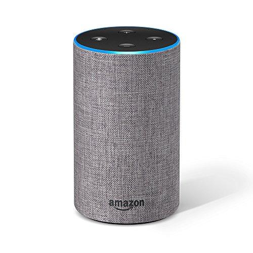 Echo 第2世代 - スマートスピーカー with Alexa、ヘザーグレー