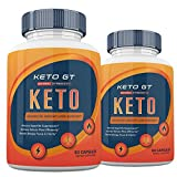 (2 Pack) Official Keto GT Advanced Weight Loss Formula, Keto GT Pills, Keto BHB - 120 Capsules, 2 Months Supply