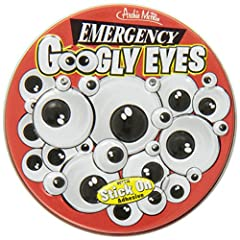 20 pairs of plastic eyes 4 different sizes Anthromorphize all your favorite inanimate objects